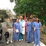 Member of surgical mission to Hue, Vietnam